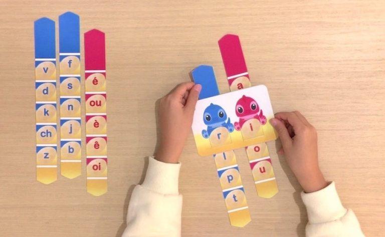 Apprendre à lire - former et lire des syllabes simples