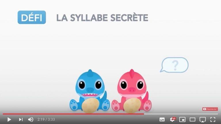 Vidéo - écouter la syllabe