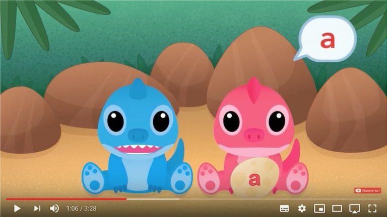 Vidéo - apprendre à lire les 6 voyelles de l'alphabet