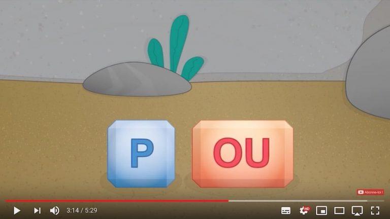 Vidéo - combiner le son des lettres