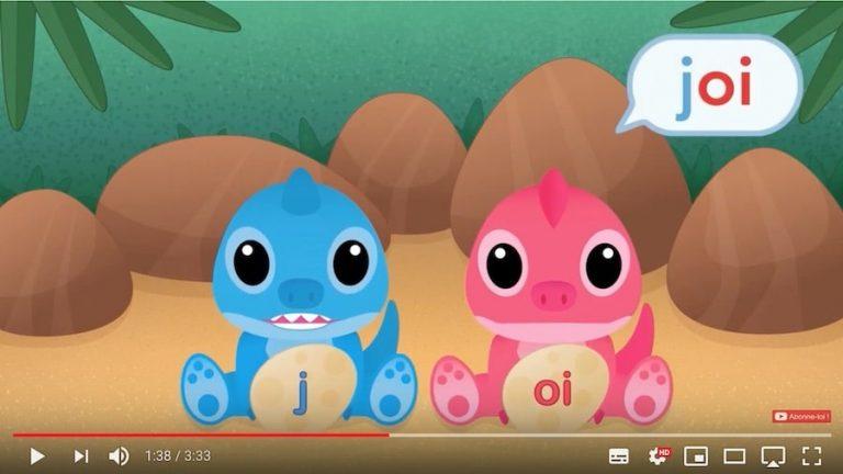 Vidéo - lire des syllabes avec le graphème OI
