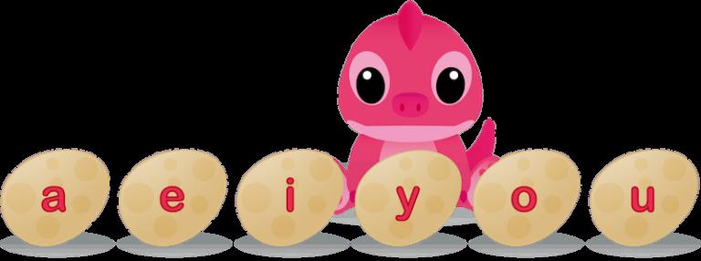 Voyelles - les 6 voyelles de l'alphabet