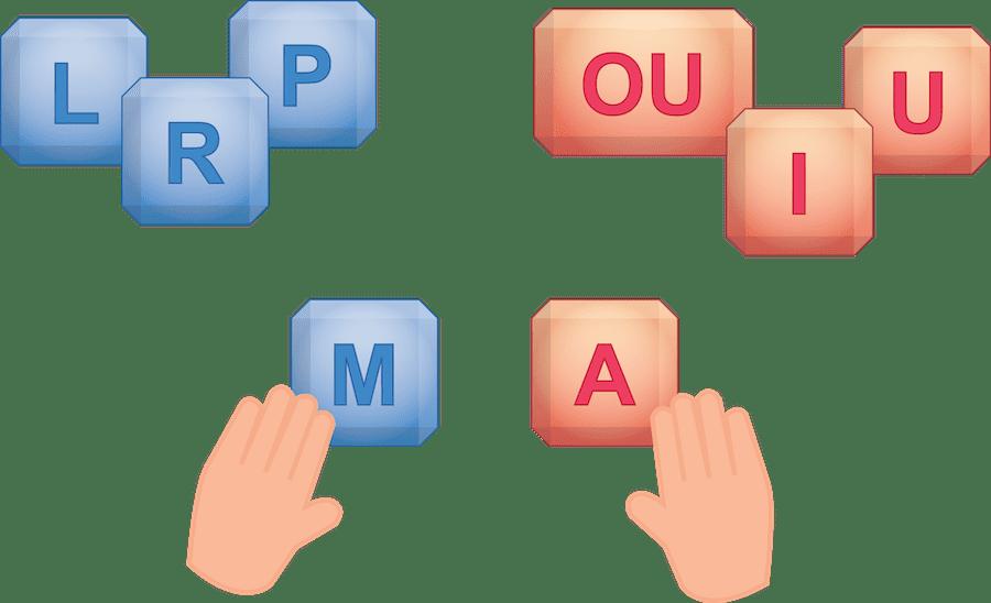 blocs à imprimer pour réviser le son des lettres