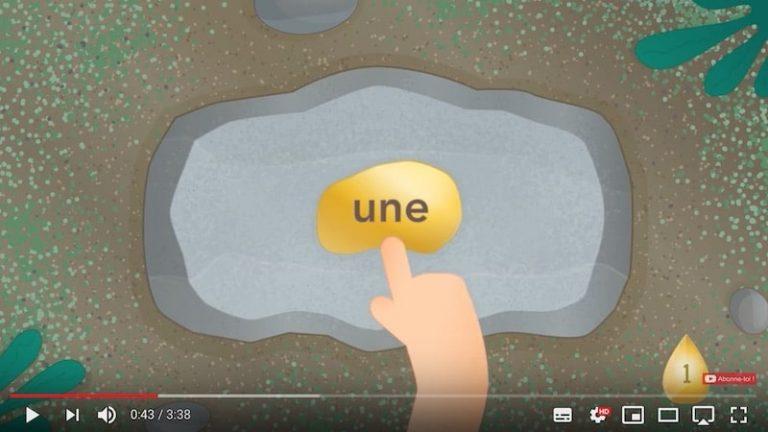 Méthode Syllabique Bobo - Mots - apprendre les mots outils