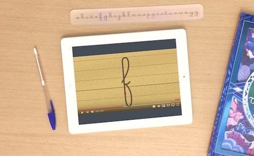 vidéos écriture cursive