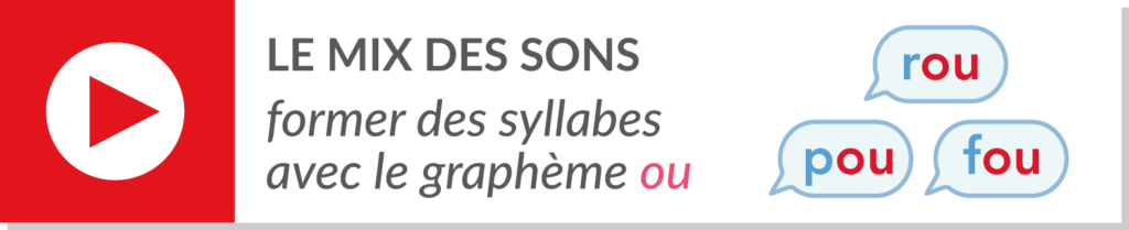 lecture de syllabes - vidéo syllabes - graphème ou son [u]