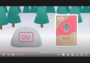 playlist vidéos - phonologie - le son des lettres