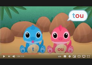 playlist vidéos - syllabes - lire des syllabes