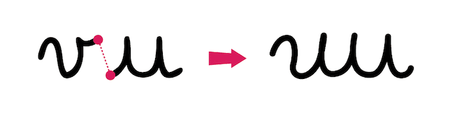 apprendre à écrire - attention aux modèles de lettres inadaptés