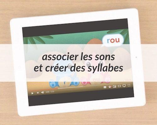 Apprendre à lire - vidéos syllabes