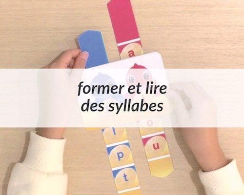 Lire des syllabes - compteur à imprimer