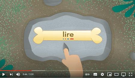 apprendre à lire - lecture de mots simples syllabe à syllabe